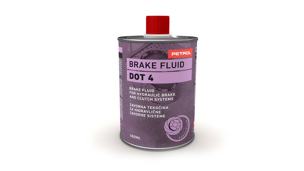 Petrol Brake Fluid DOT-4